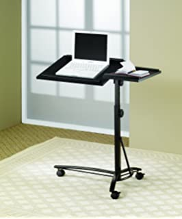 Amazoncom Laptop Chair with Adjustable Desk Table Stand for