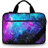 RICHEN Canvas Laptop Shoulder Bag Laptop Netbook Bag,Protective Canvas Carrying Handbag Briefcase with Side Handle