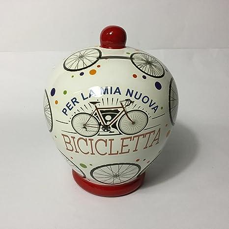 Salvadanaio Terracotta Per La Mia Nuova Bicicletta N 40 Cod 7226