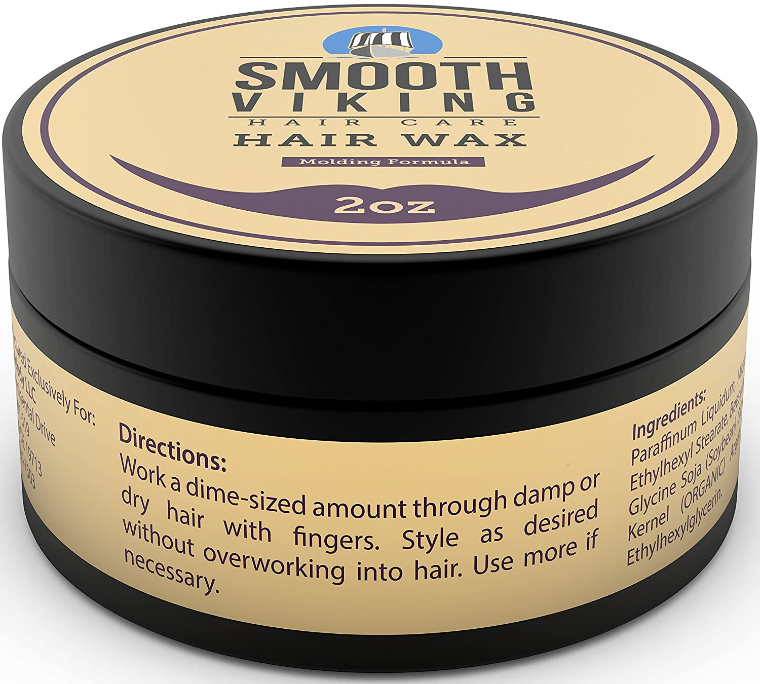Hair Wax For Men   Best Hair Styling Formula For Modern Styling   Workable  U0026 Pliable Product For Added Texture U0026 Shine   Works On All Hair Types, ...