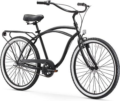 Sixthezero Around The Block - Bicicleta Cruiser para Hombre (66 cm ...