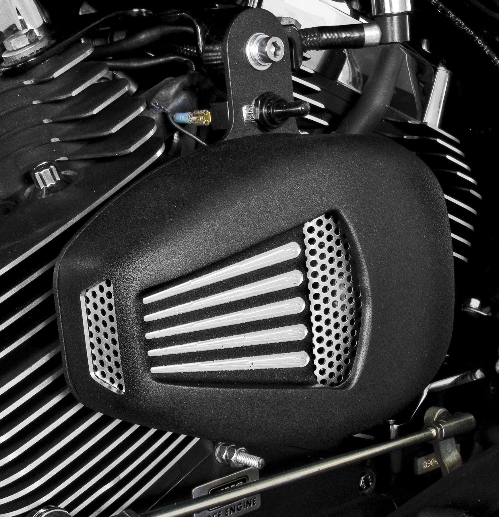 JIMS Black ForceFlow Cylinder Head Fan Kit 5401