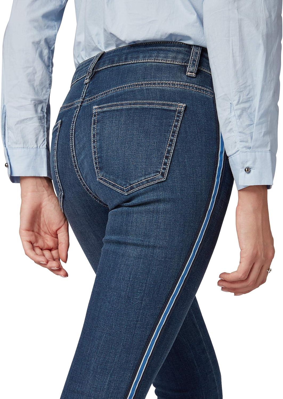 TOM TAILOR M/ädchen Inside Brushed Denim Jeanshose