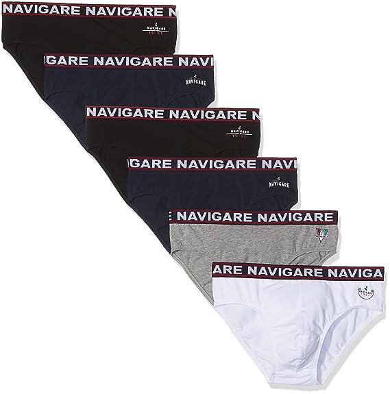 22249efc69 Navigare 324, Slip Uomo, Pacco Da 6: Amazon.it: Abbigliamento