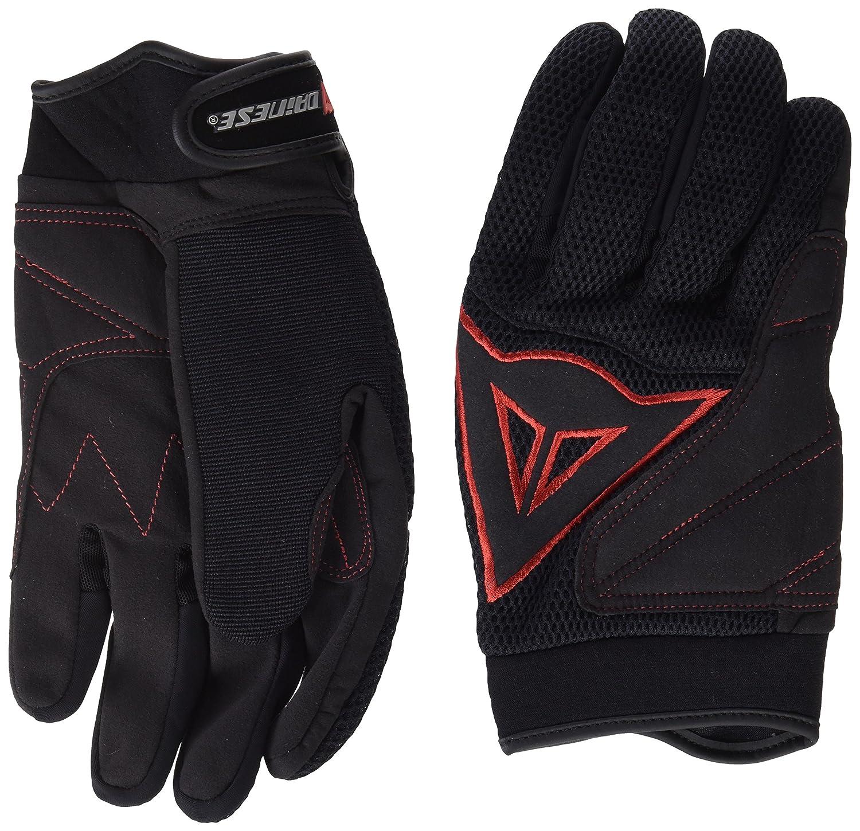 Dainese 3819262 B78 – Handschuh Tex Long schwarz rot XL