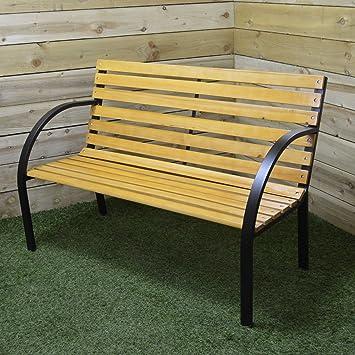 Redwood BB FC121 2 Person Wooden Garden Bench