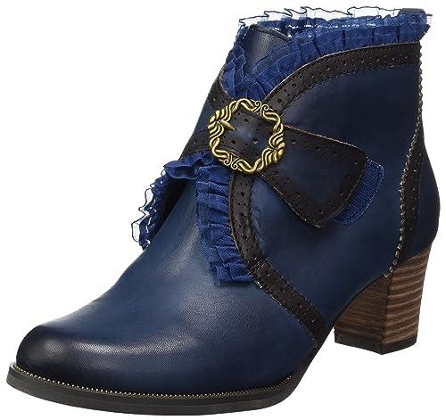 Christie 01 - Botines Mujer, Color Azul, Talla 38 Laura Vita