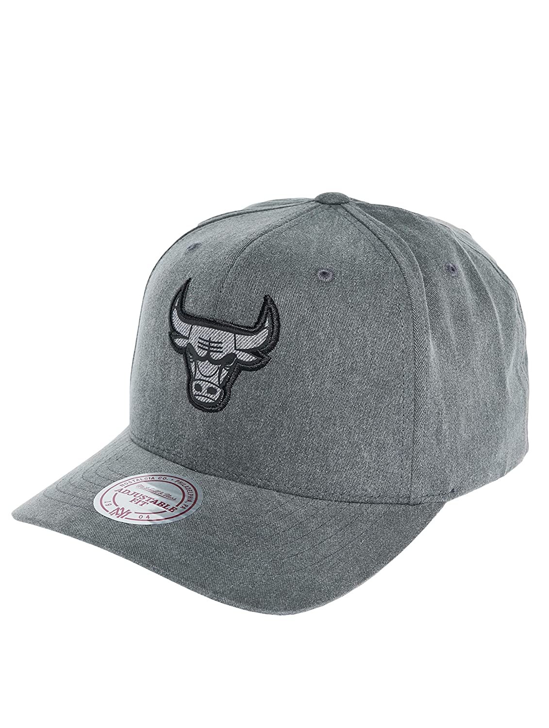Mitchell & Ness Chicago Bulls Black INTL263 NBA Washed Heather ...