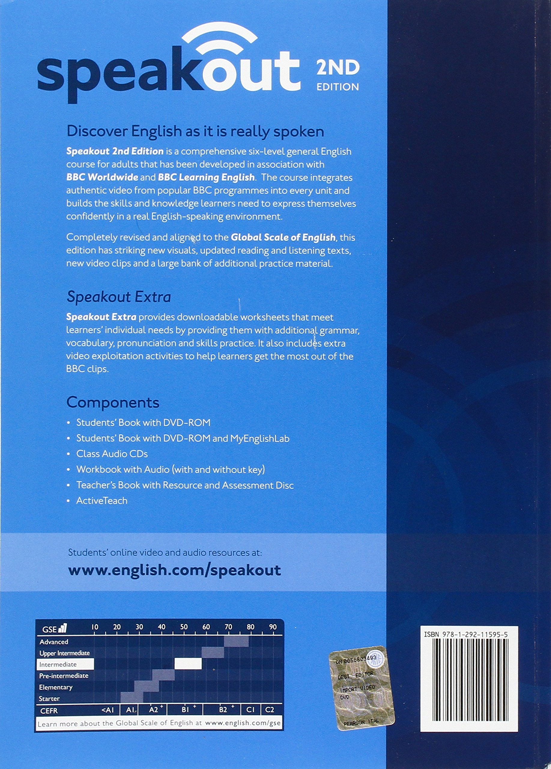 Speakout intermediate 2nd edition students book with dvd rom and speakout intermediate 2nd edition students book with dvd rom and myenglishlab access code pack livros na amazon brasil 9781292115955 fandeluxe Choice Image