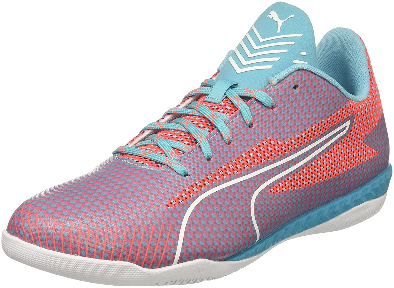 PUMA Men's 365 Ignite CT Soccer-Shoes B01NCLMISM 9.5 M US|Nrgy Turquoise-puma White-fiery Coral-toreador