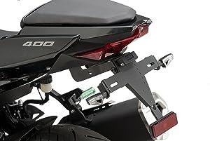 Puig 9629N License Support 6929N Black for Kawasaki Ninja 400 18'