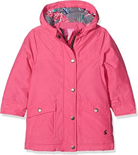 04bedb510ded Amazon.com  Joules Girls  Belmont Print Waisted Puffer Coat  Clothing