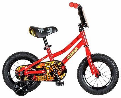 Amazon com : Schwinn Boys Tiger Bicycle, 12