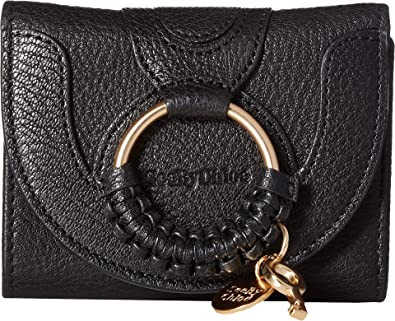 cbbe677d Amazon.com: See by Chloe Women's Hana Leather Wallet Black One Size ...
