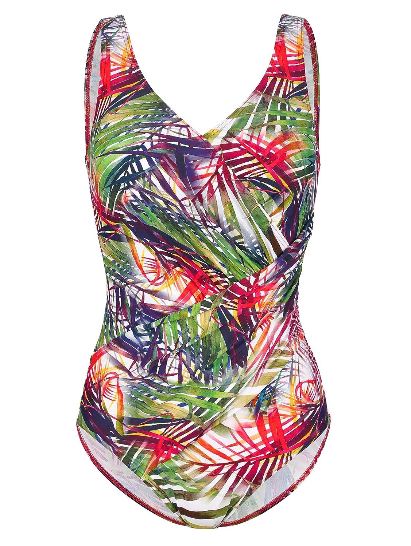 Maritim Damen Badeanzug im sommerlichen sommerlichen sommerlichen Tropicalprint B07MY9SD7B Badeanzüge Ausgezeichnete Leistung 485c99