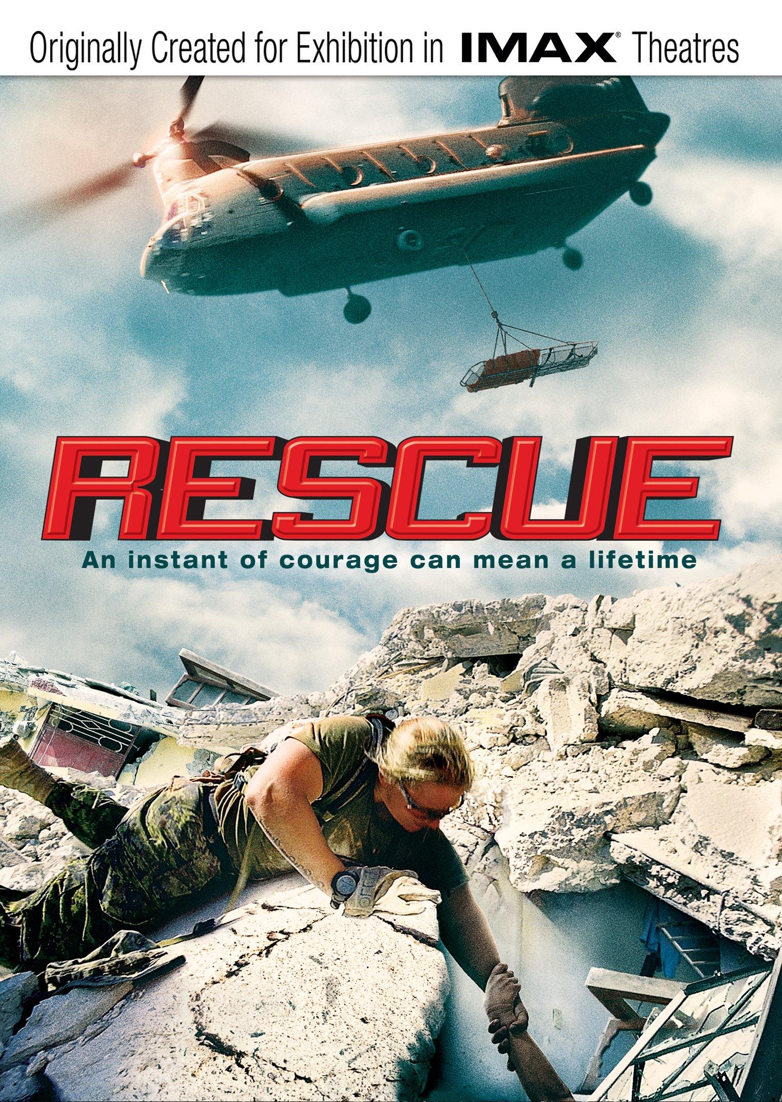 DVD : Rescue (imax) (DVD)
