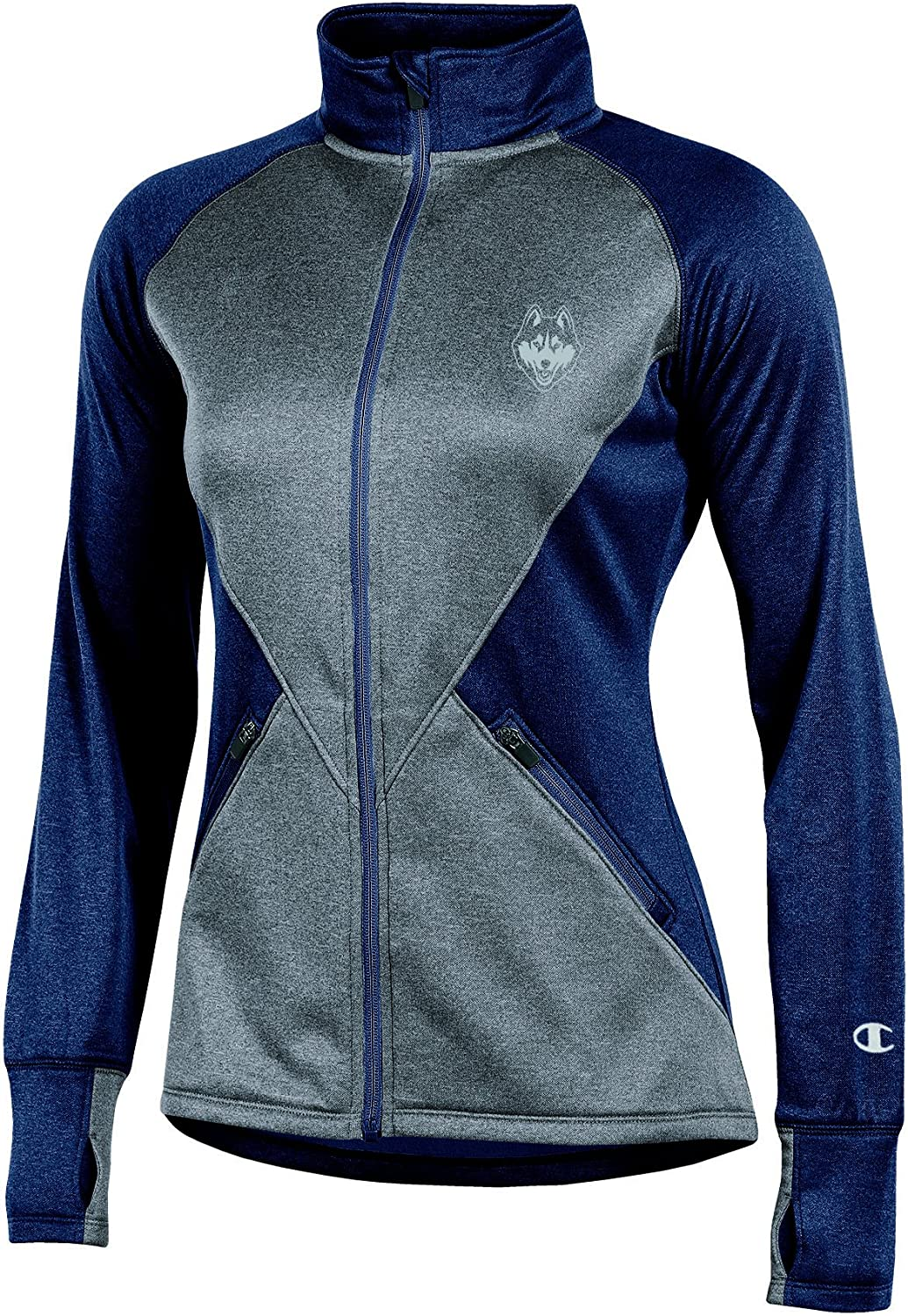 Champion NCAA Womens Pep Rally Long Sleeve Full Zip Jacket
