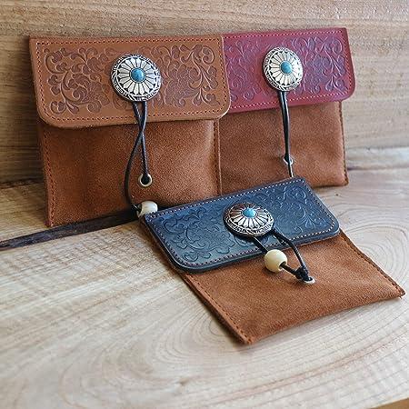 Impresionante bolsa multipropósito de cuero para almacenamiento de herramientas y accesorios - Funda para lápices, bolsa de maquillaje, bolsa para guardar herramientas, bolso, bolsa para lápices: Amazon.es: Hogar