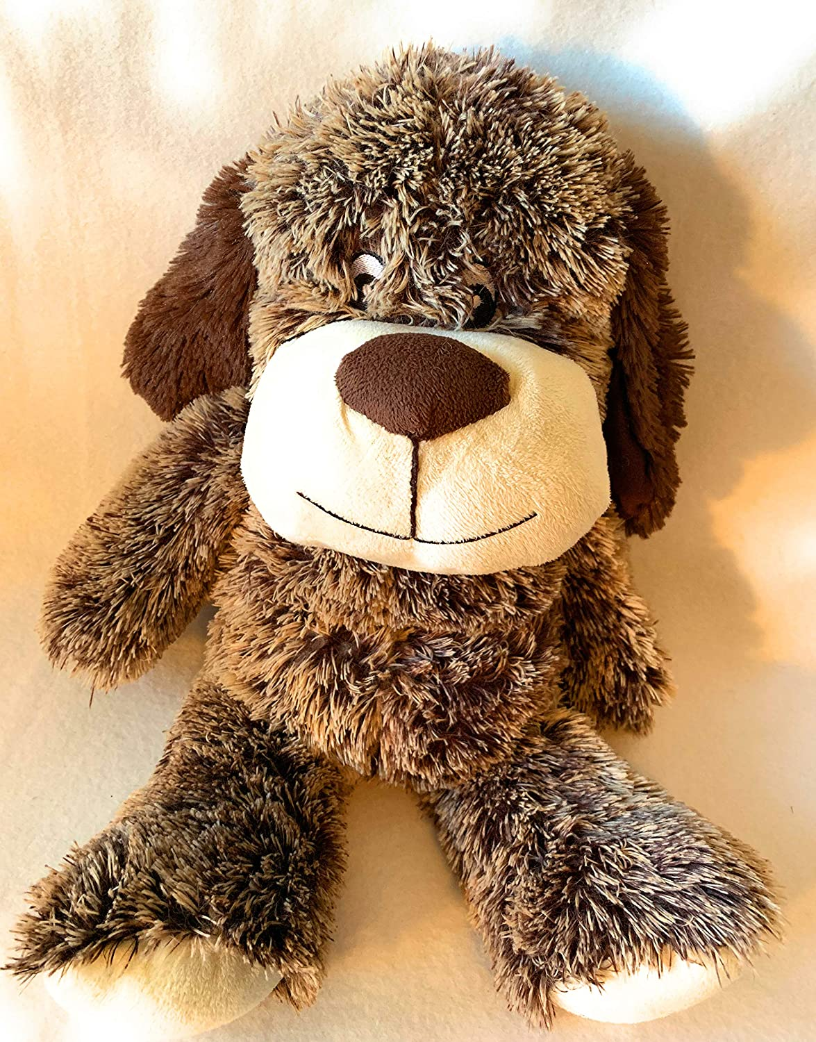 washable weighted stuffed animal WEIGHTED PLUSH DOG with 4 lbs