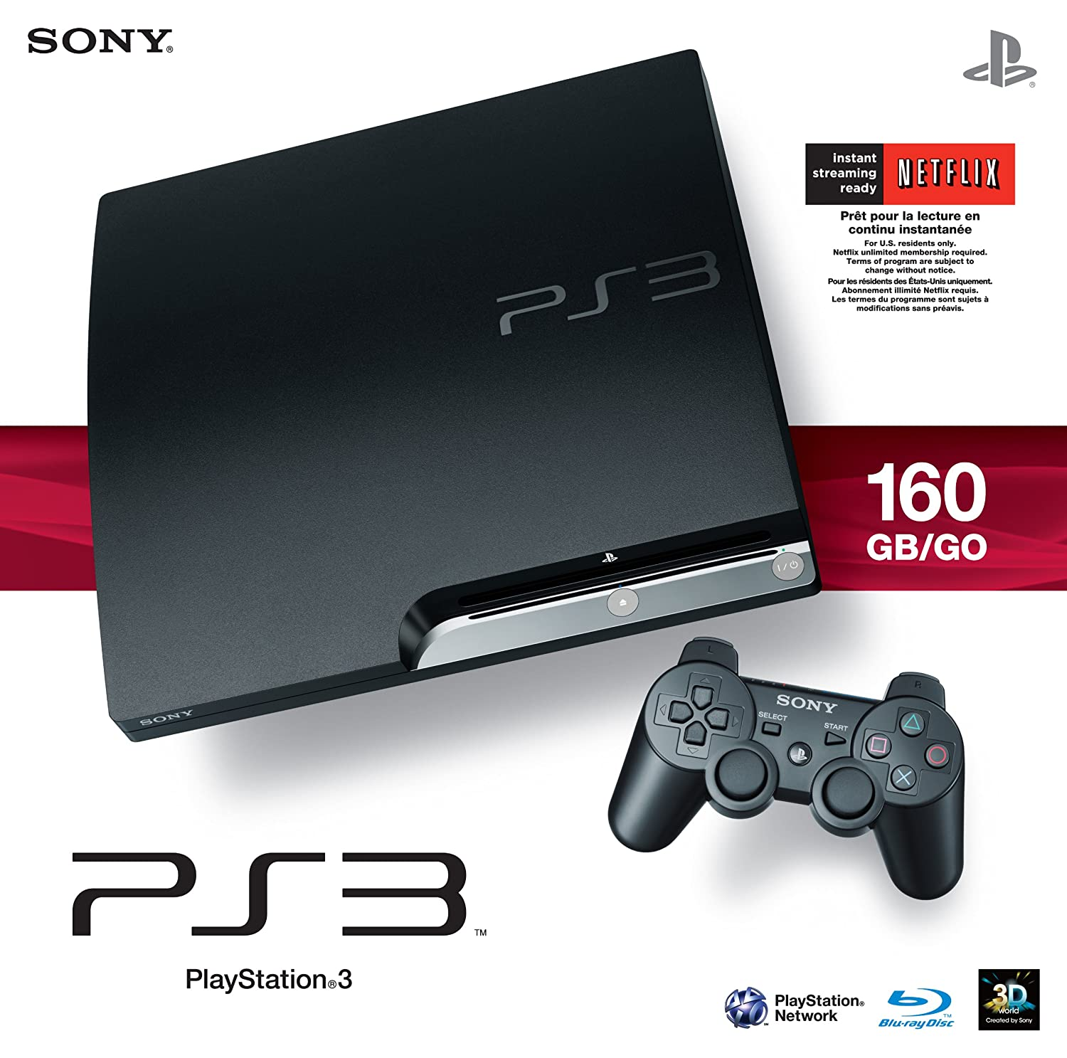 Amazon Com Sony Playstation 3 160gb System Video Games