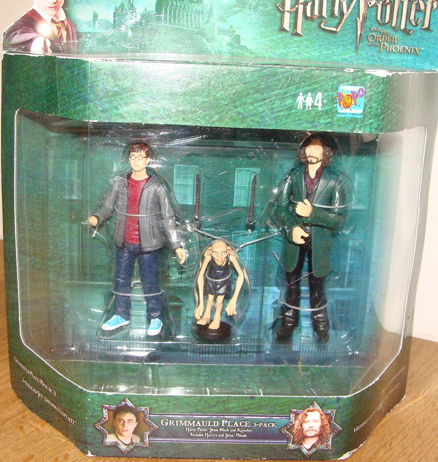 DELUXE ACTION FIGURES HARRY POTTER AND THE ORDER OF THE PHOENUX