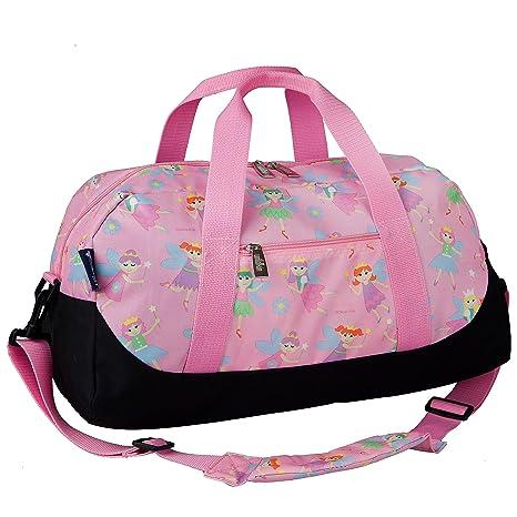 3b36a594aa47 Pink Purple Duffel Bag Horse Pony Child Kid Girl Purse NEW Display Model  Duffle Holiday presents
