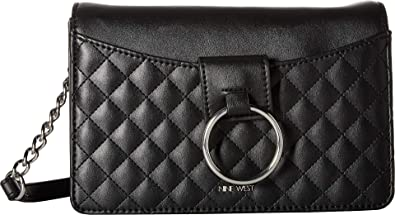 e732a447784d Nine West Women s Jadwiga Shoulder Bag Black One Size  Handbags  Amazon.com