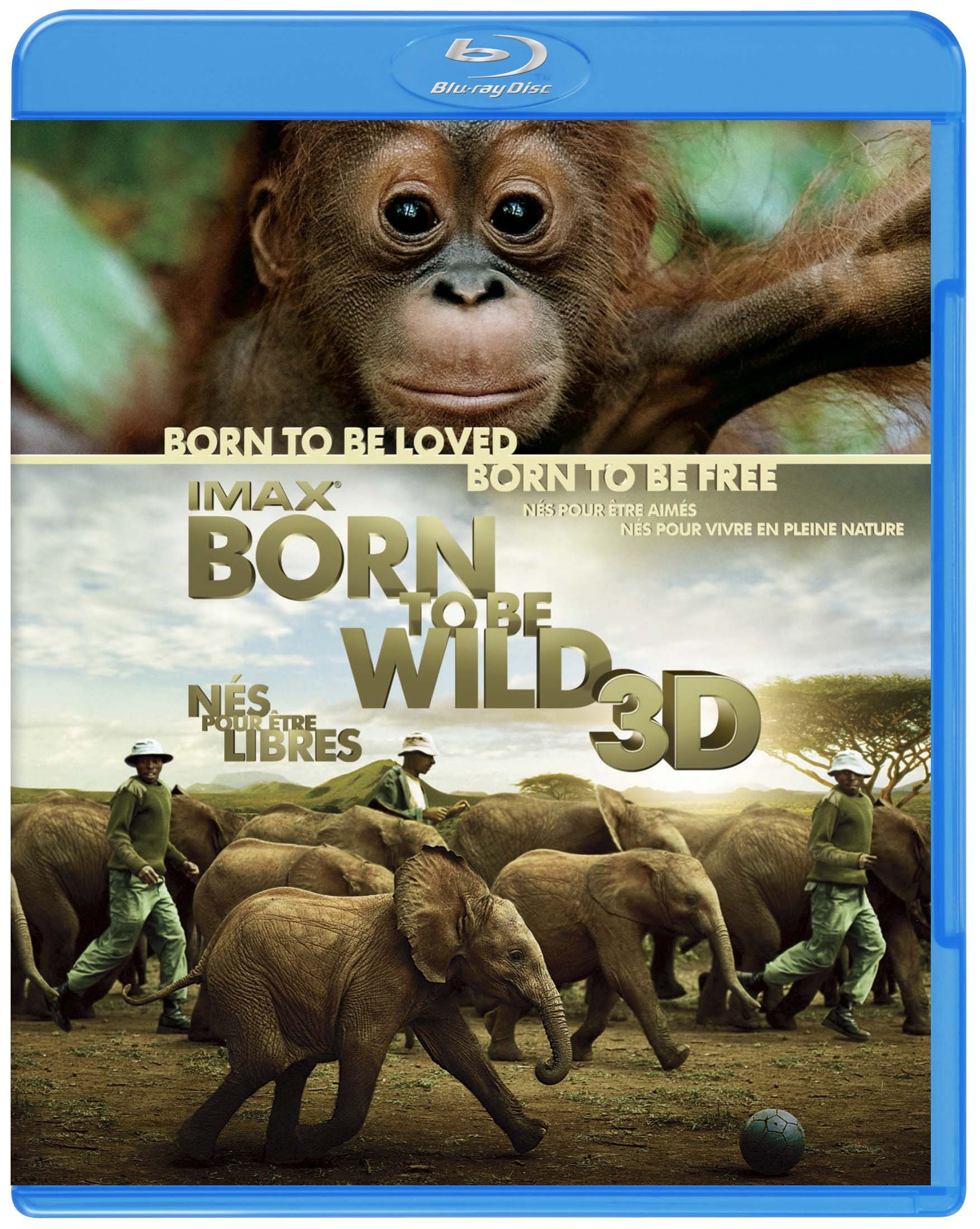 TV Series - Live In The Wild Born To Be Wild 3D: Imax [Japan BD] 10003-68709