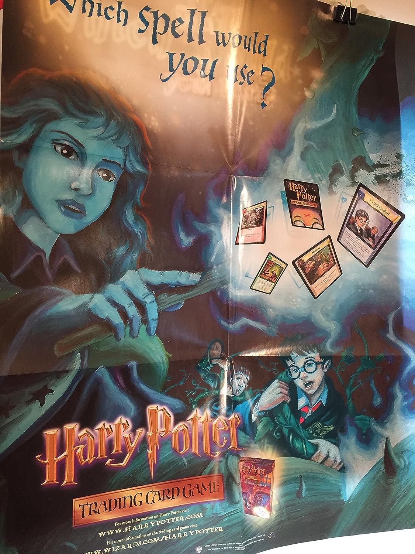 Amazon.com: Póster de Harry Potter TCG: Toys & Games