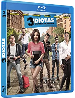 3 Idiotas Blu Ray (Spanish Only / No English Options)