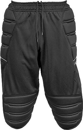 117ba5c8835af Reusch Compact Short 3 4 Rodillera Pantalones Portero Pantalones Negro  Niños Black