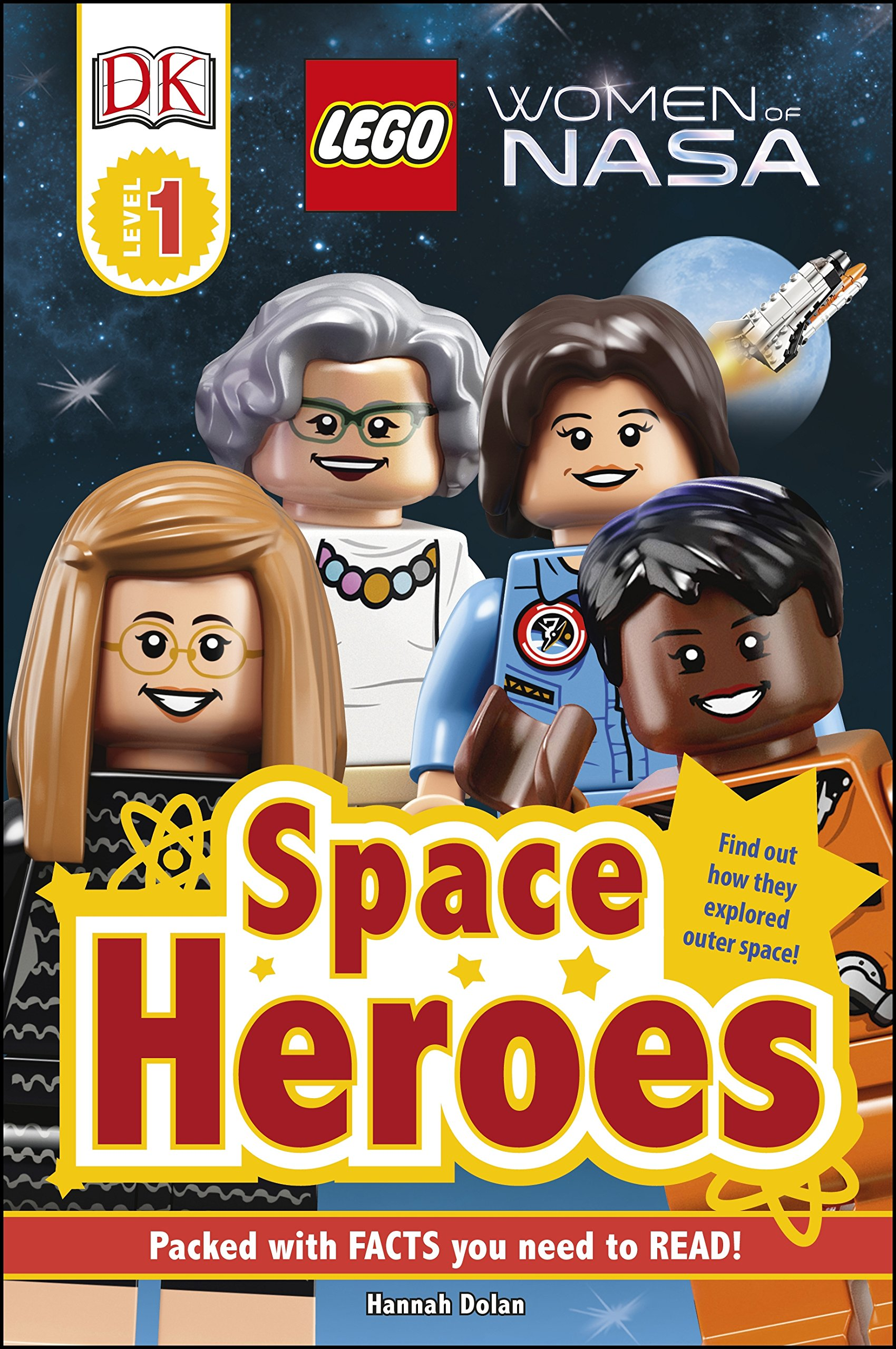 Image result for Women of NASA DK readers : learning to read : 1 : LEGO : women of NASA