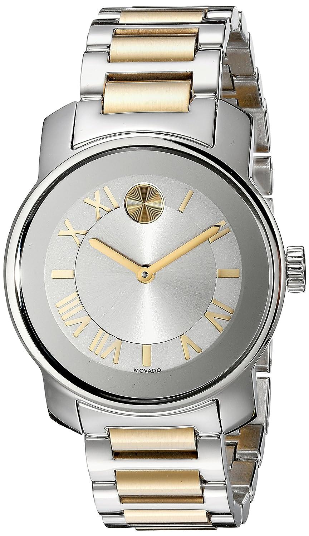 Movado Damen 32mm Multi Color Ëdelstahl Armband & GehÄuse Uhr 3600245