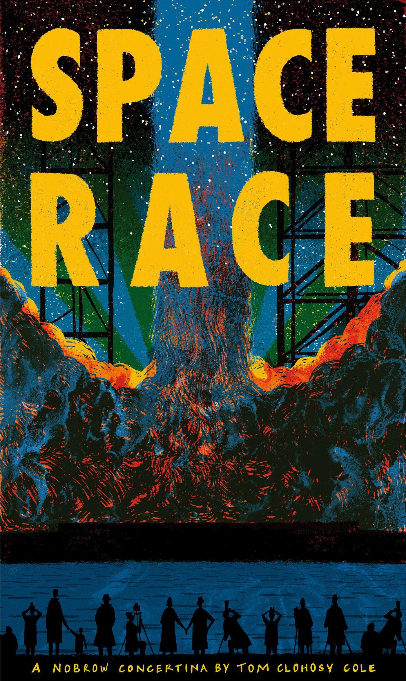 Space Race [Concertina fold-out book]: Leporello PDF