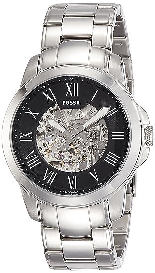vendible chic clásico artesanía exquisita FOSSIL Grant - Reloj de pulsera: Fossil: Amazon.es: Relojes