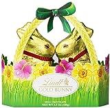 Lindt Gold Bunny Basket, Milk Chocolate, 3.5 Ounce
