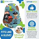 Optho-Patch Kids Eye Patches - Fun Boys Design - 30 + 10 Bonus Latex Free Hypoallergenic Cotton Adhesive Bandages for Amblyopia and Cross Eye - Reward Chart Poster by Defined Vision