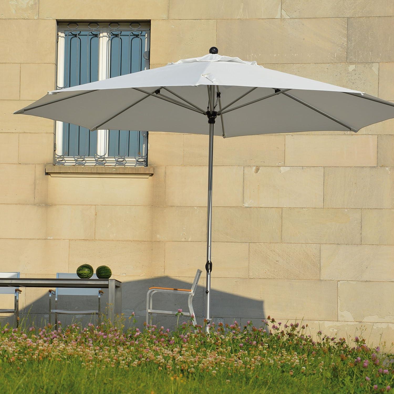 Lino Sonnenschirm ø 350 cm - weiß