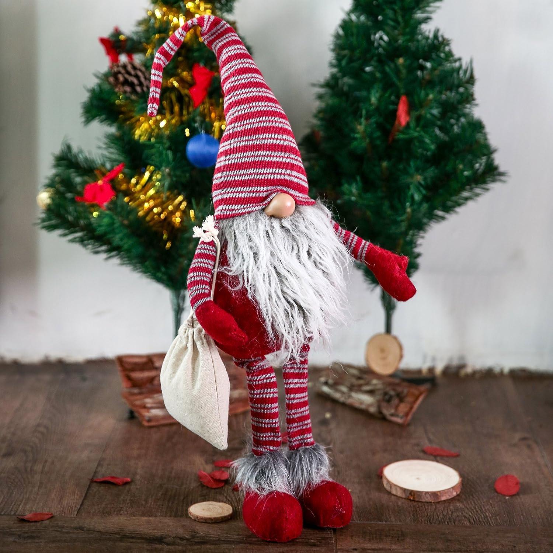 Amazoncom Handmade Swedish Tomte,Santa  Scandinavian Gnome Plush Christmas Gift