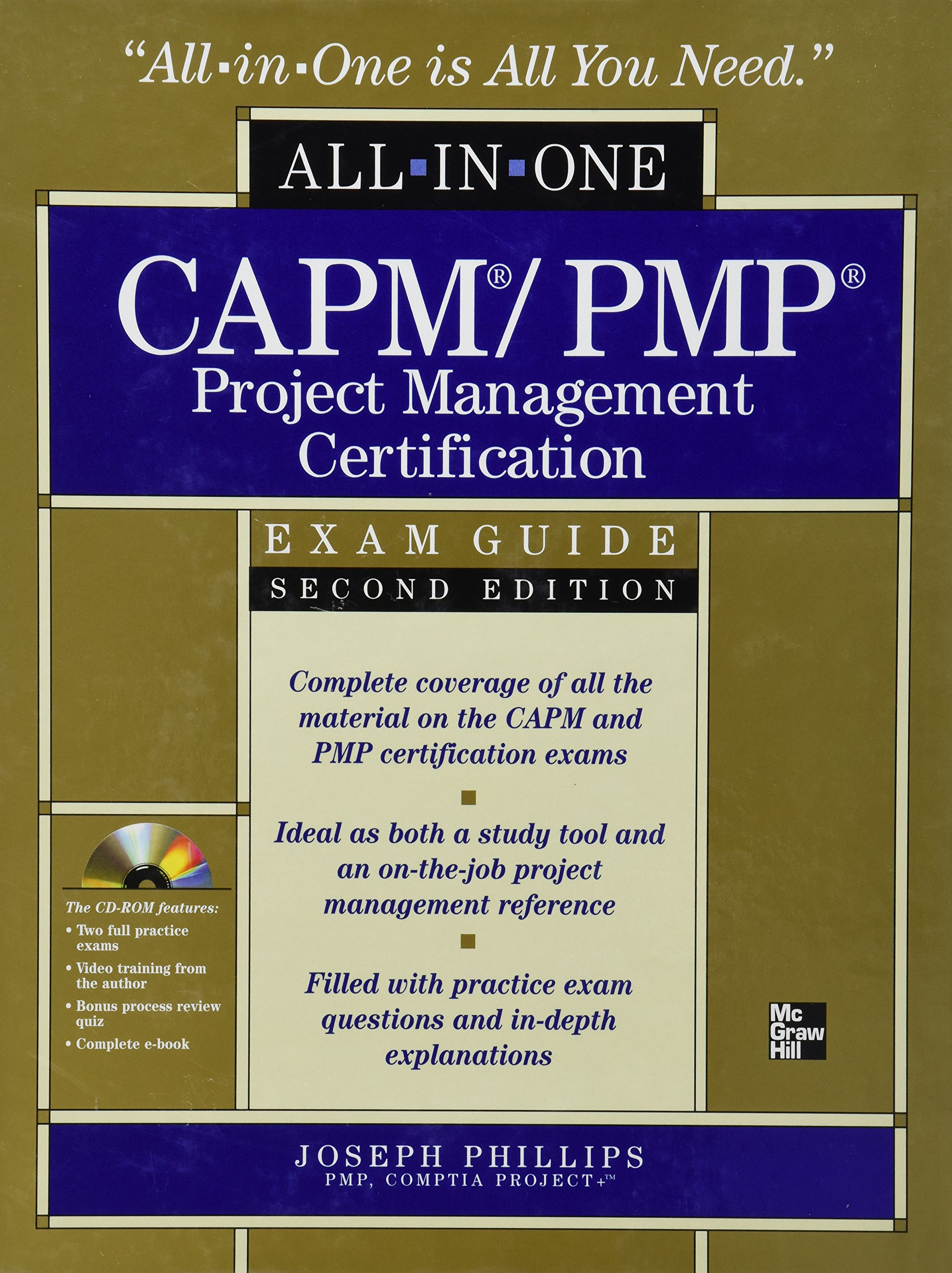 Buy Capmpmp Project Management Certification All In One Exam Guide
