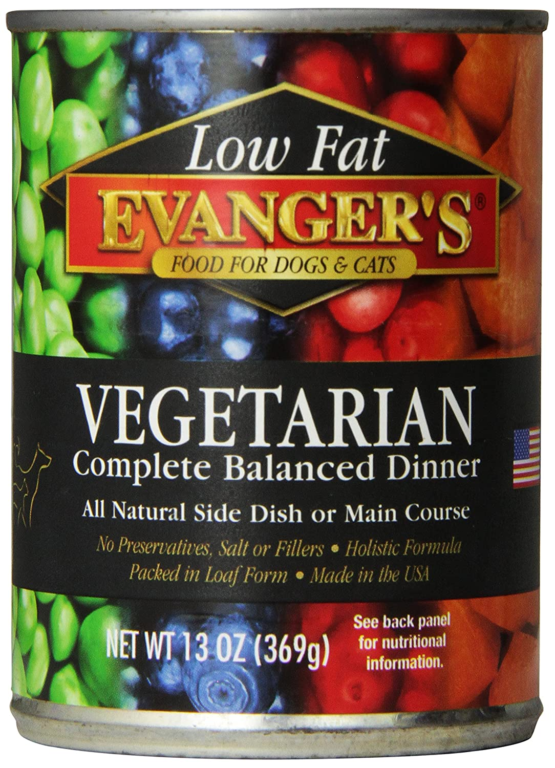EVANGER'S All Fresh Vegetarian Dinner 13-Ounces 12-Pack