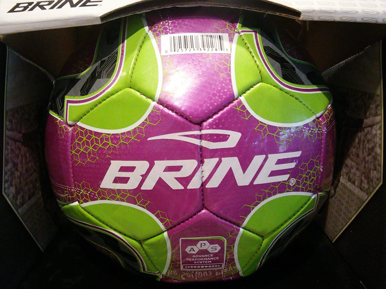 Flecha de balón de fútbol de salmuera, color morado, tamaño 5 ...