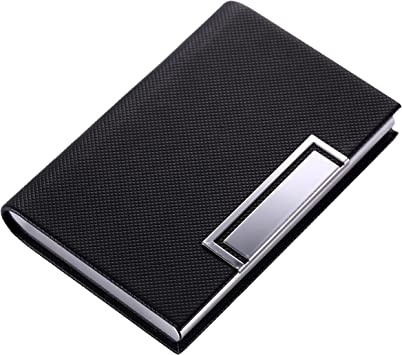 Business Card Holder,Business Card Case High-grade Stainless Steel Card Case for Men Women