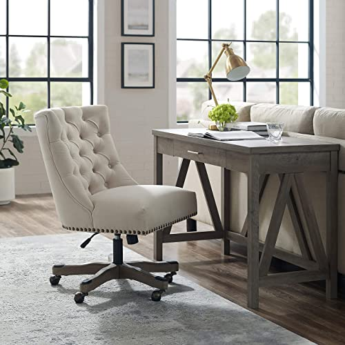 Linon Home D cor Honor Natural Office Chair