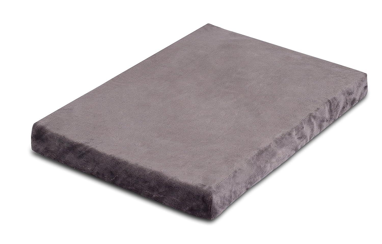 Grey Small (22 x 16\ Grey Small (22 x 16\ Internet's Best Memory Foam Dog Bed (Small (22 x 16 ), Grey)