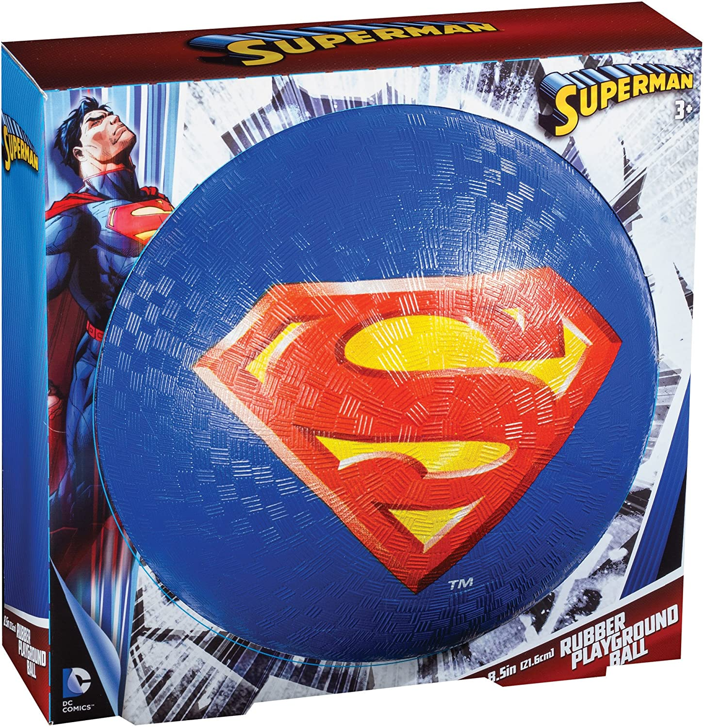 Franklin Sports 8.5 Playground Ball, Superman: Amazon.es: Juguetes ...