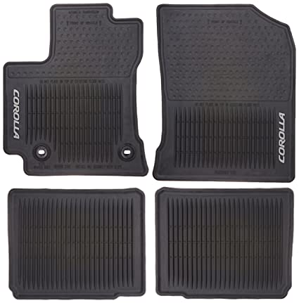 2009 Toyota Camry Oem All Weather Floor Mats Carpet