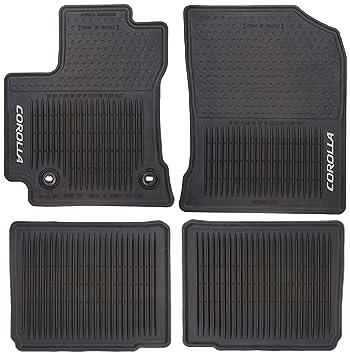 Toyota Floor Mats >> Amazon Com Toyota Pt908 02143 20 All Weather Floor Mats Automotive
