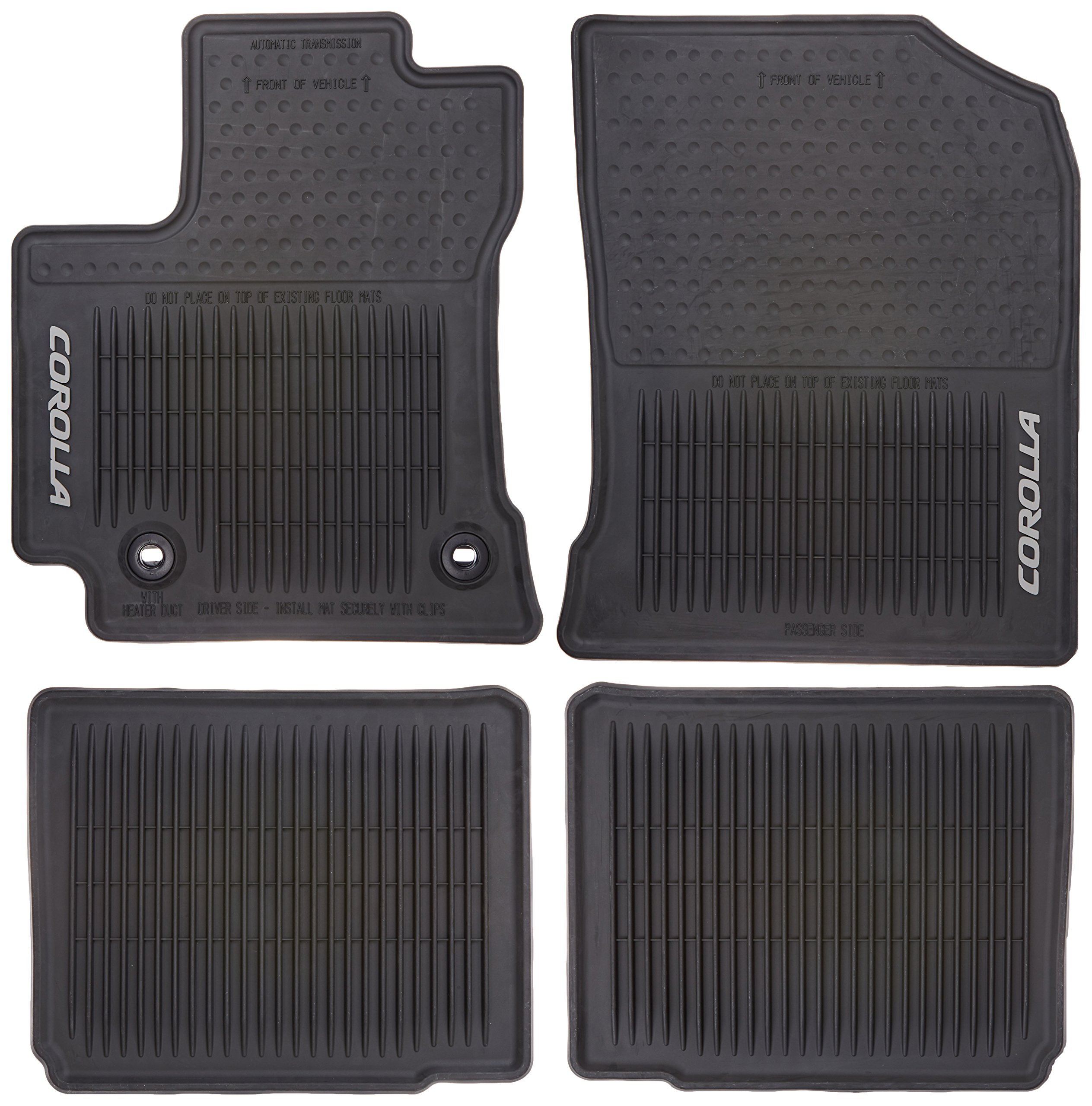 rubber suv interior ford all black mat mats armor floor f season piece amazon com truck dp