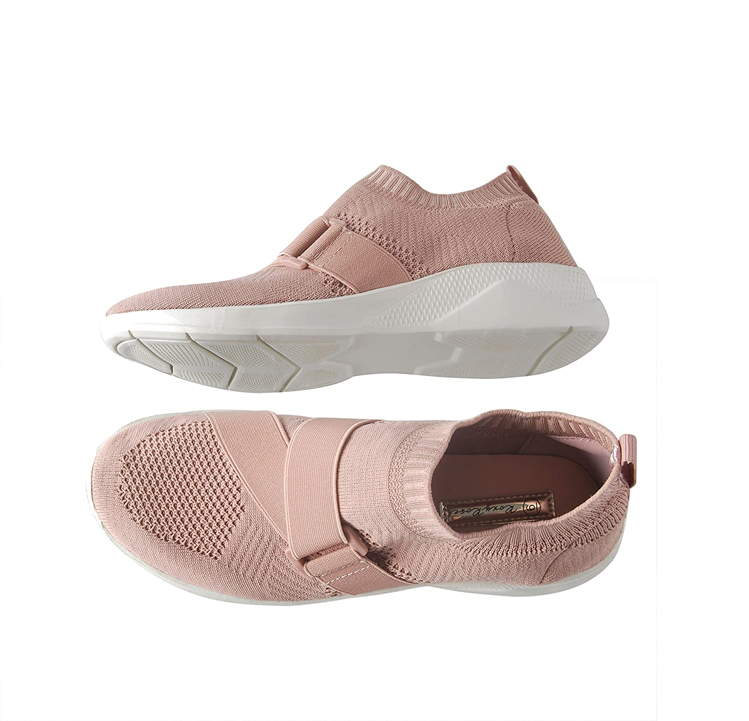 11eb24383876 ... ROXY ROSE Lightweight Sneakers Slip On Mesh Women Casual Casual Casual  Running Shoes B07BQ16KRG 7 M ...